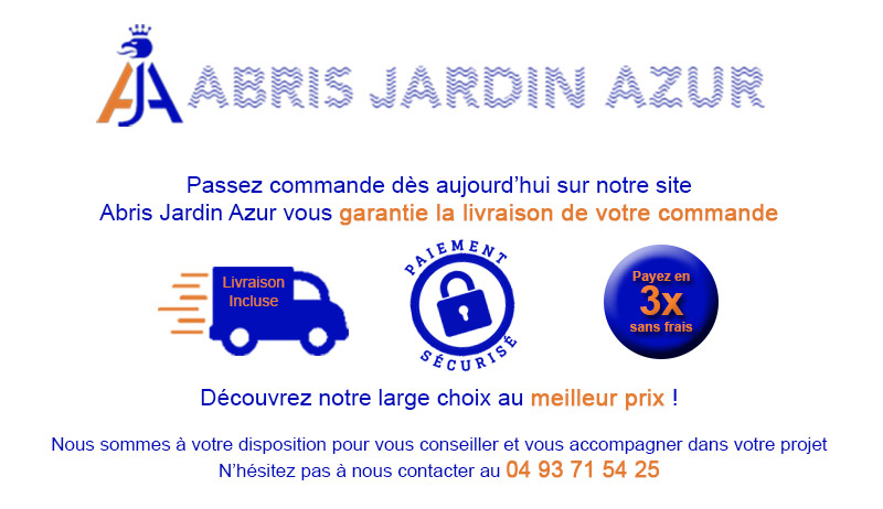 Abris Jardin Azur